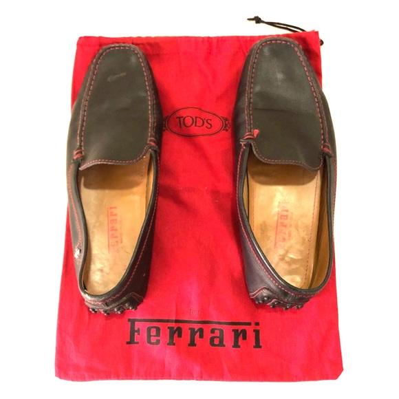 e7986b72e4bc2 Tod's Shoes | Tods X Ferrari Mens Driving Loafers | Poshmark